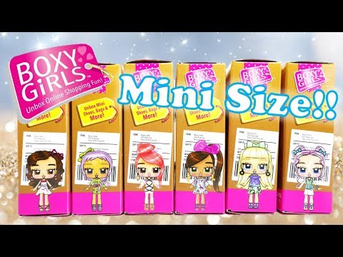 Mini Boxy Girls Full Set Unboxing And Review