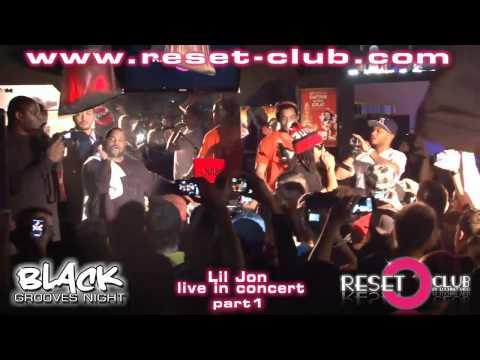 Lil Jon Live in Concert part1