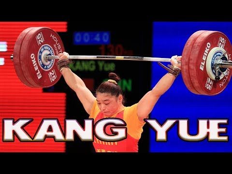 KANG Yue World championship weightlifting Houston 2015