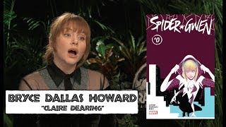 Spider-Gwen: Bryce Dallas Howard Reacts!