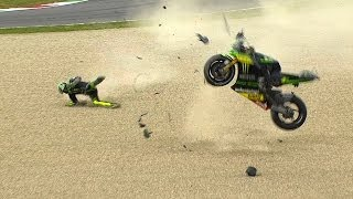 Gros Crash au Mugello 2014