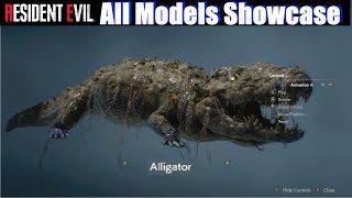 RE2 All Models Unlocked Showcase - Resident Evil 2 Remake 2019