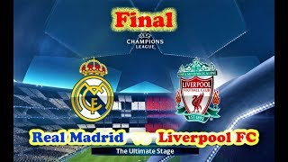 Real Madrid vs Liverpool | UEFA Champions League FINAL 2018 | PES 2018 Gameplay HD