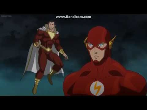 Justice League War Flash Takes Out Darkseids Eye