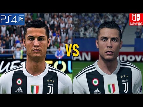 FIFA 19 Graphics Comparison (PS4 Pro Vs Nintendo Switch)