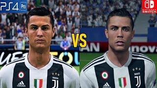 FIFA 19 Graphics Comparison (PS4 Pro vs Nintendo Switch)