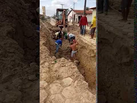 Acidente em Obra de Saneamento da Prefeitura de Centro do Guilherme deixa vítima Fatal