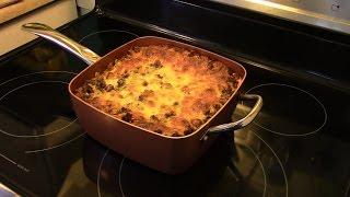 Lasagna in the Copper Chef