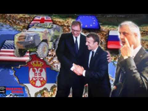 MAKRON NAJAVLJUJE NEVEROVATAN ZAOKRET - Posle razgovora sa Putinom, Merkel ispada iz kosovske igre!?