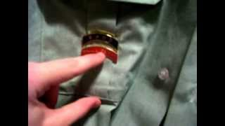 How to put together your army jrotc uniform. Correctly.