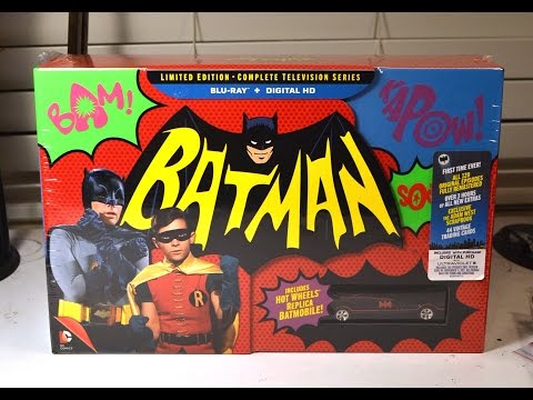BATMAN COMPLETE TELEVISION SERIES BLURAY COLLECTION unboxing & review