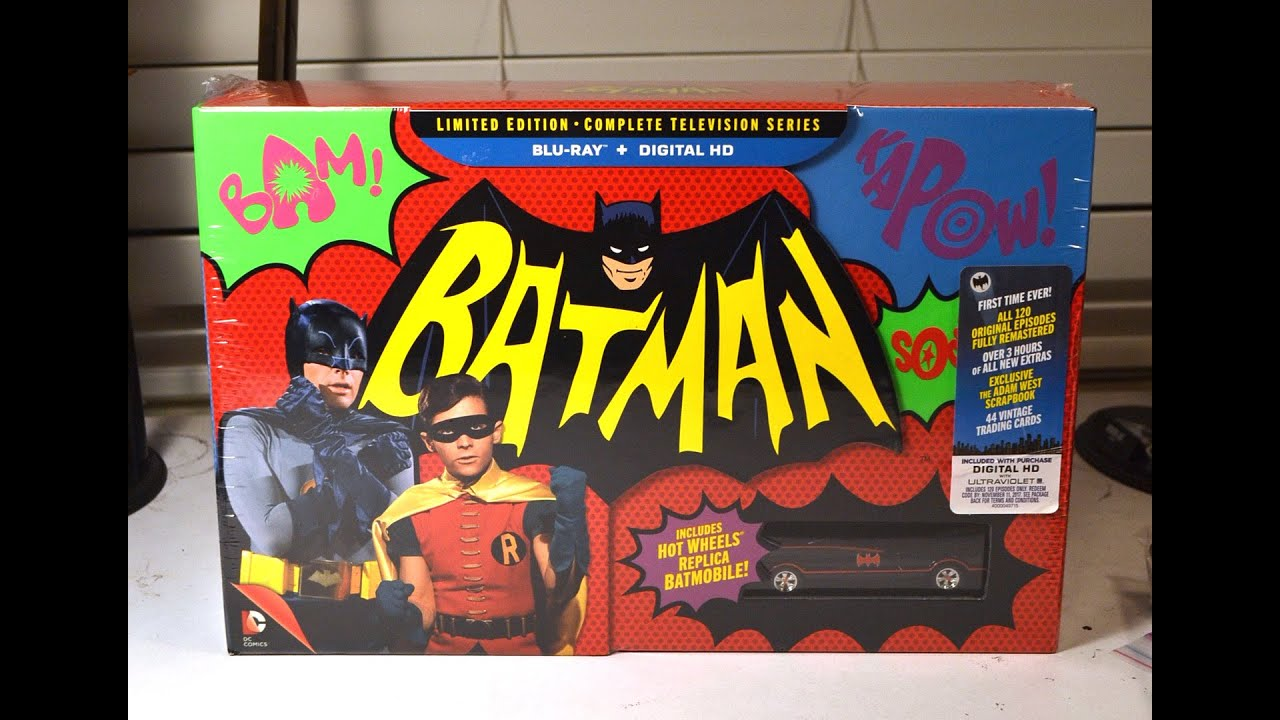 Download BATMAN COMPLETE TELEVISION SERIES BLURAY COLLECTION unboxing & review