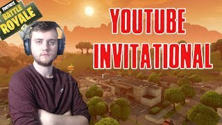 YOUTUBE/FORTNITE INVITATIONAL TOURNAMENT! I'm gonna beat ALL THE OTHER YOUTUBERS!