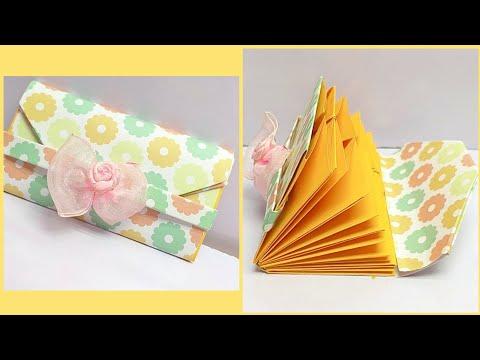 Creative Handmade Paper Wallet Tutorial - Useful DIY Paper Craft Ideas
