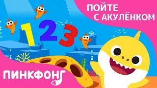 Акулёнок 123 | Пойте с Акулёнком | Пинкфонг Песни для Детей