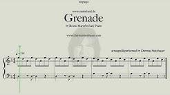 Grenade by Bruno Mars  -  for Easy Piano
