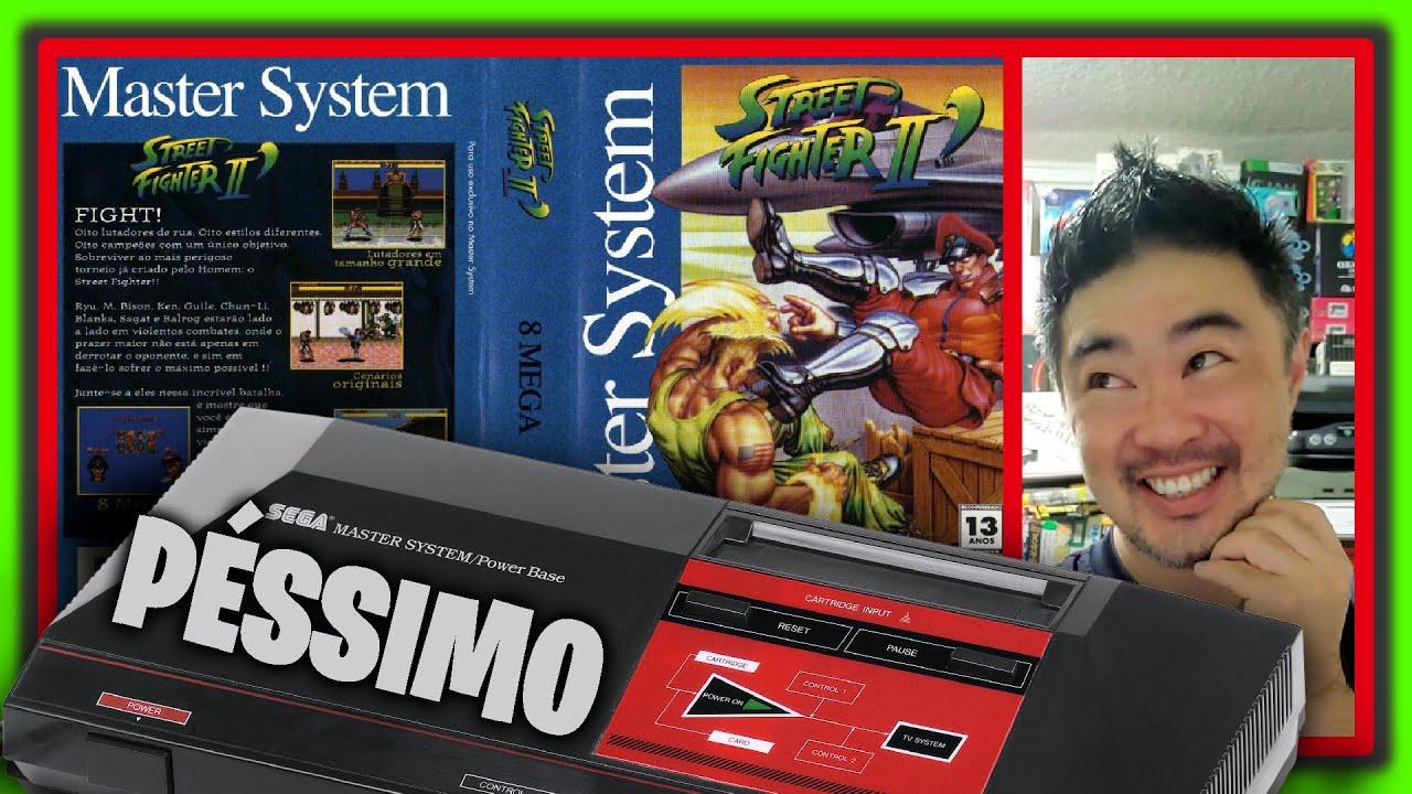 STREET FIGHTER 2 de Master System: Como foi a Inacreditável história da Criação e Desenvolvimento ?