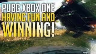 Having Fun & Winning! PUBG Xbox One X (Playerunknown's Battlegrounds)