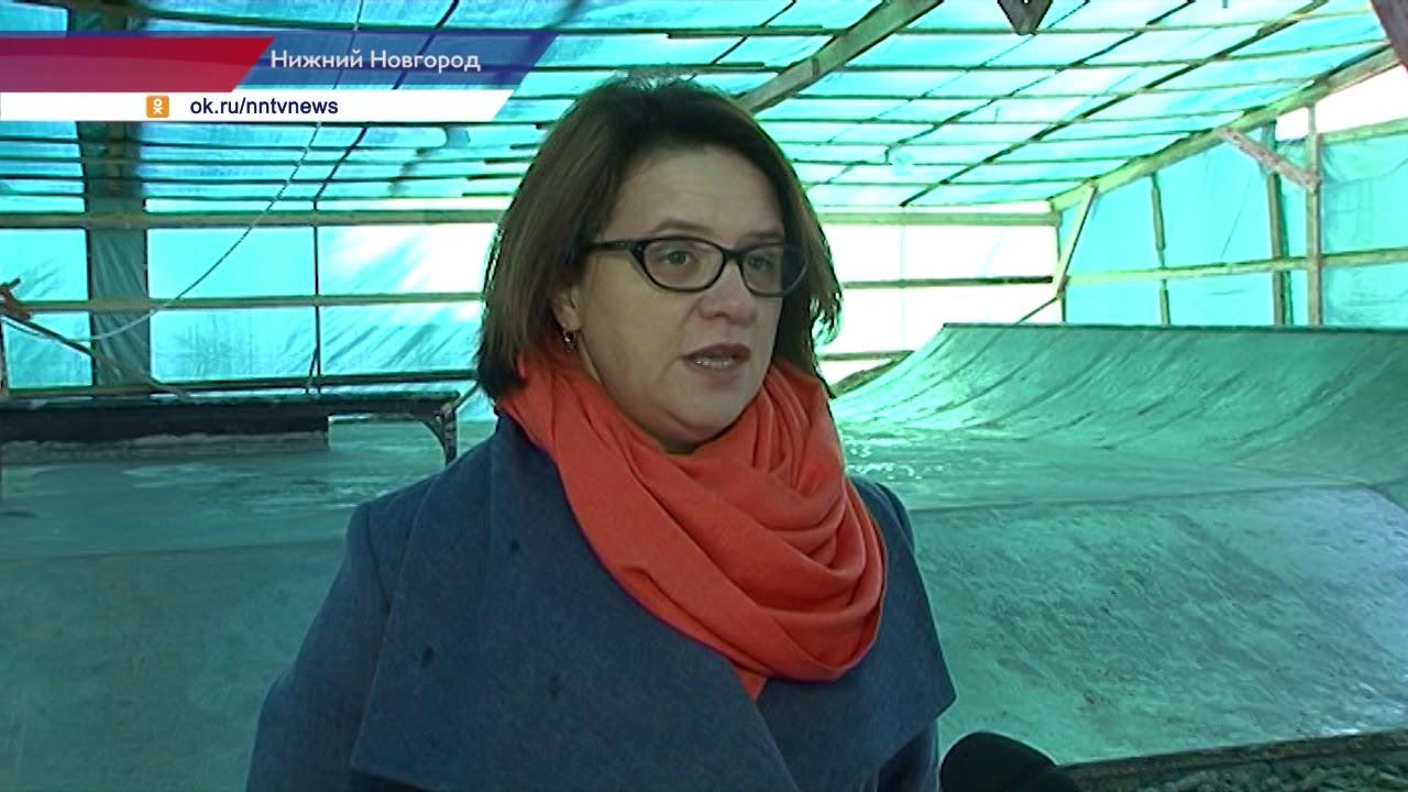 Скейт-парк в Сормовском районе откроют в декабре