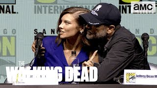 The Walking Dead: 'Lauren Cohan on Season 9's Time Jump' Comic-Con 2018 Panel Highlights
