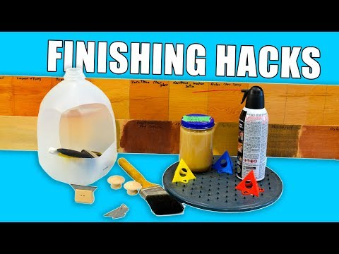 5 fast Wood Finishing Hacks – Woodworking recommendations