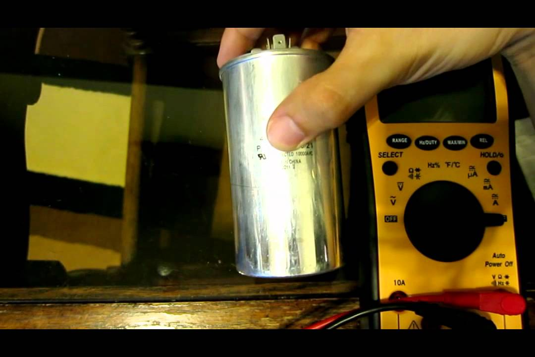 How To Buy A Run Start Capacitor Cap Air Condition Replace Measure Troubleshoot Hvac A C