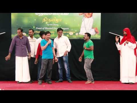 Blessed Devasahayam Pillai Feast Cultural Program  @ St.Paul's Church, Abu Dhabi - Part 2