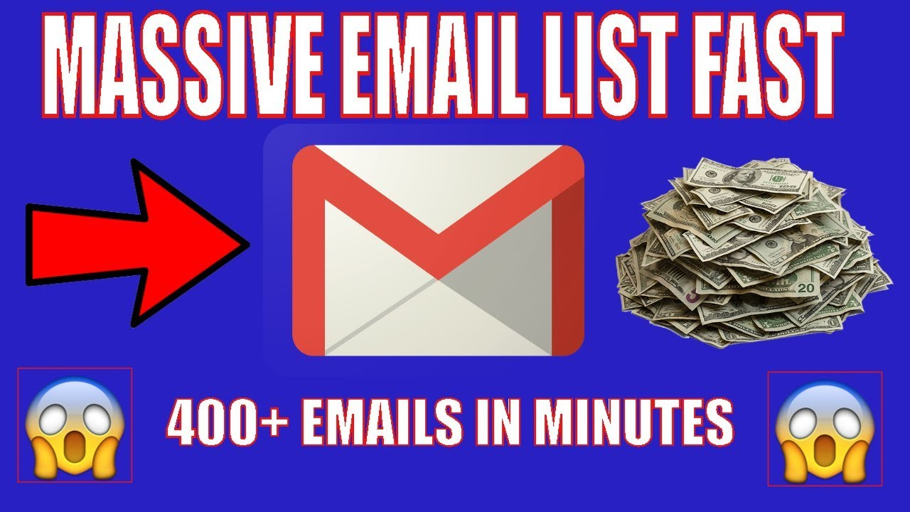 How To Build An Massive Email list Fast 2018 | How to build an email list from scratch ????
