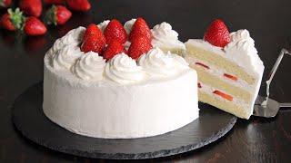 Japanese Strawberry Shortcake  How Tasty Channel