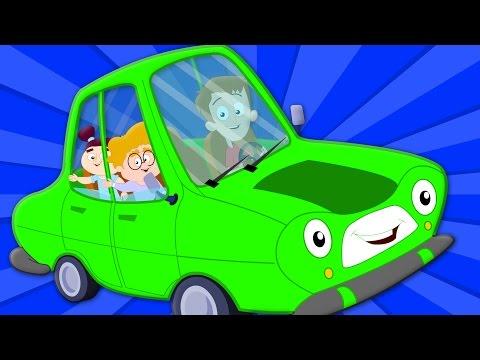 Wheels On The Car Car Song Nursery Rhymes Baby Rhymes Kids Songs  kids tv S02 EP0310