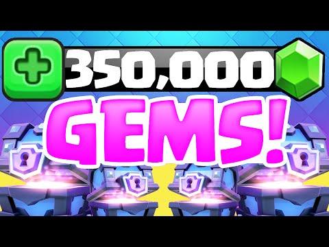 Clash Royale ♦ 350,000 Gems! ♦...