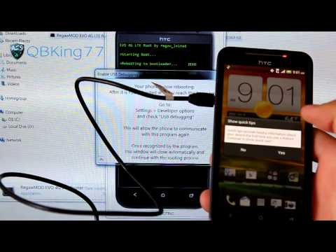 HTC EVO 4G LTE: How to Unlock, Install TWRP, and Root!
