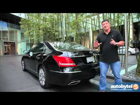 2012 Hyundai Equus Test Drive Luxury Car Review