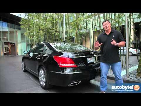 2012 Hyundai Equus Test Drive & Luxury Car Review