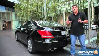 2012 Hyundai Equus Test Drive Luxury Car Review смотреть