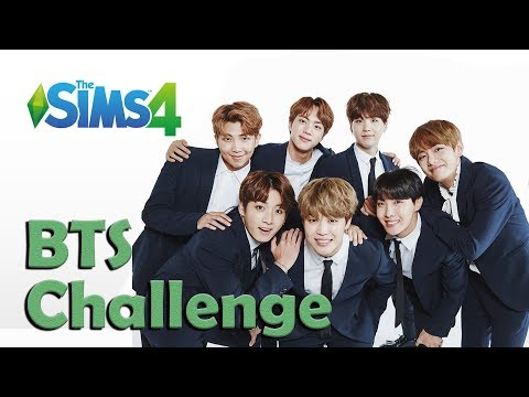 || THE SIMS 4 BTS CHALLENGE || From Zero to Worldwide Heros | Episode 1 - Creating BTS