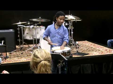 """Jay performing """"Stick"""" Snare Solo"""