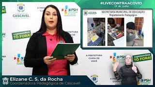 #LiveContraaCovid #20 |Coordenadora Pedagógica Municipal - Elizane Cordeiro