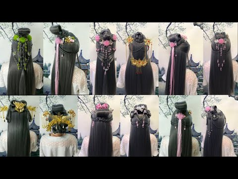 top-beautiful-chinese-old-traditional-hairstyles-tutorials-in-2019
