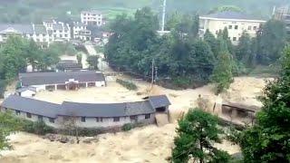 Потрепавший Китай тайфун несет ливни в пострадавшие от паводков российские регионы.