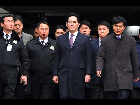 Samsung Chief Jay Y.  Lee Arrested In Corruption Investigation