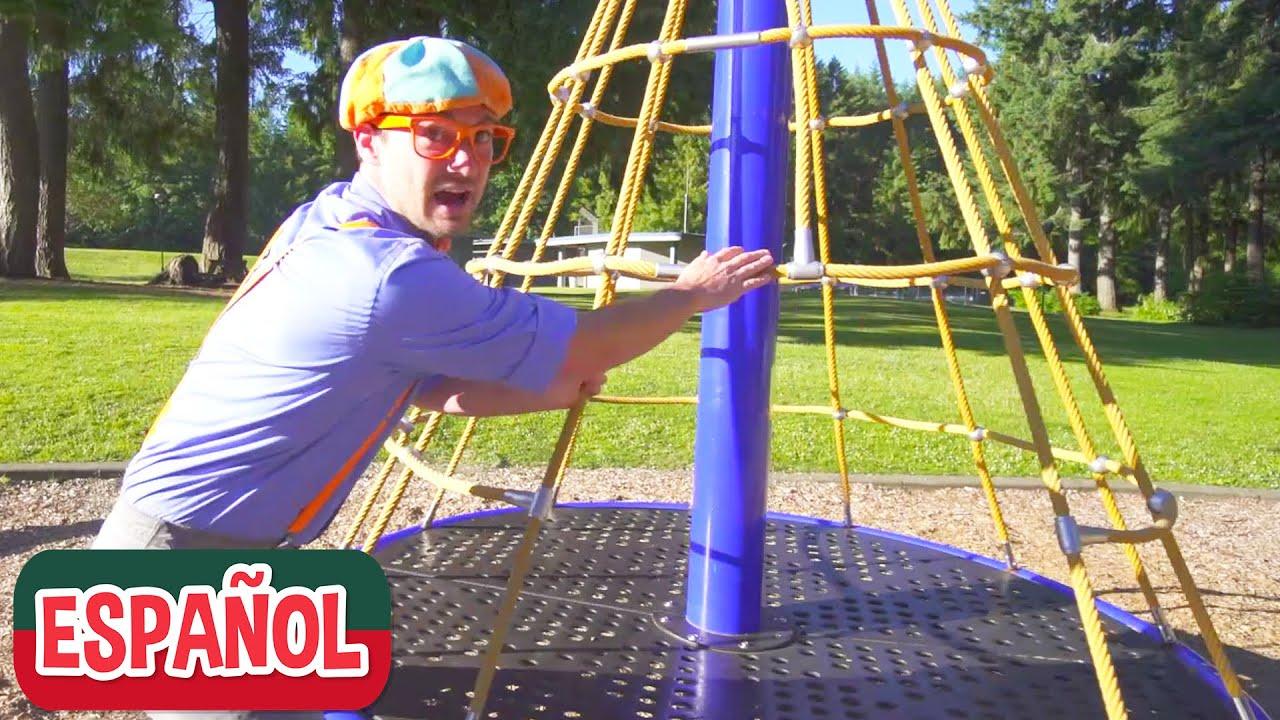 Blippi Juega y Aprende en un Patio de Juegos Abierto | Videos Educativos para Niños Pequeños