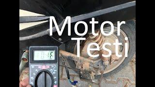 Elektrikli Bisiklet Arizasi 5 Motor testi Motor arızası tesbiti