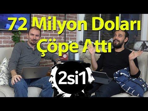 72 Milyon Doları çöpe atan adam! | 2si1 Teknoloji ve Oyun Programı