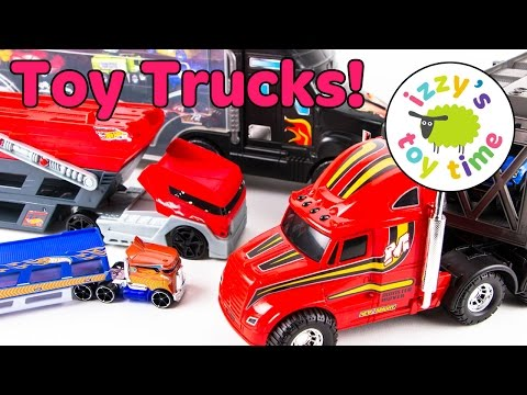 Cars for Kids | Hot Wheels and Mack Truck Family Fun | Toy Cars for Kids