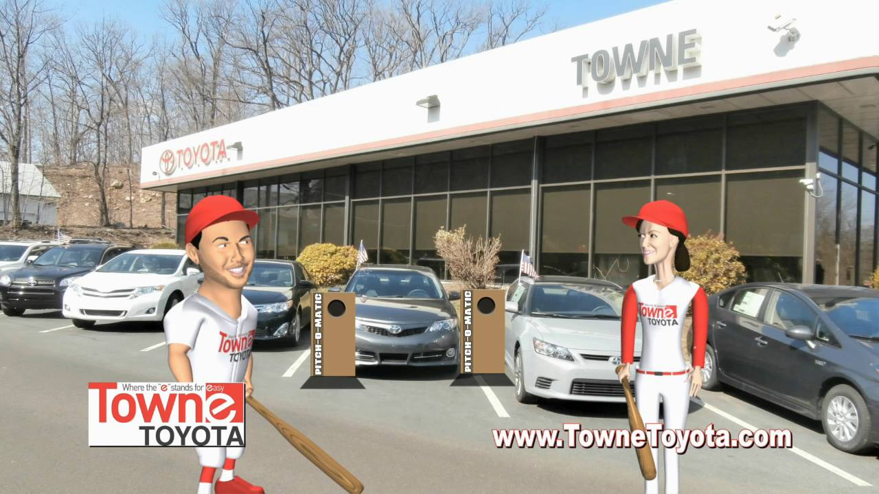 Towne toyota i m really good at this