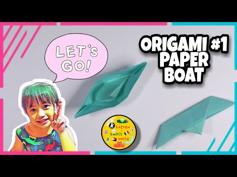 How To Make A Paper Boat | Easy Steps | Origami #01