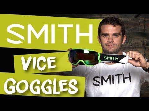 ceb1cf95e4237 2018 Smith Vice Goggle - Review - TheHouse.com - YouTube