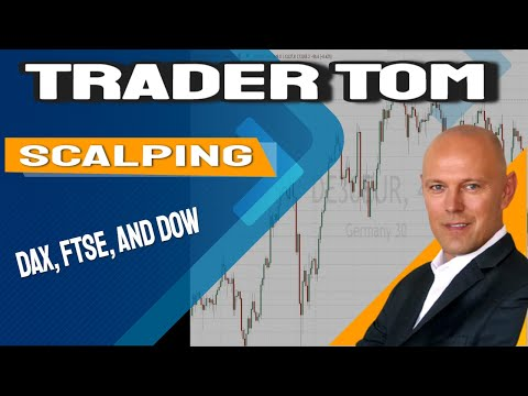 Scalping – Trading Dax, FTSE, and Dow.