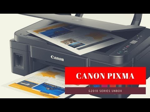 แกะกล่อง CANON PIXMA G2010 | Reviewwa Unbox